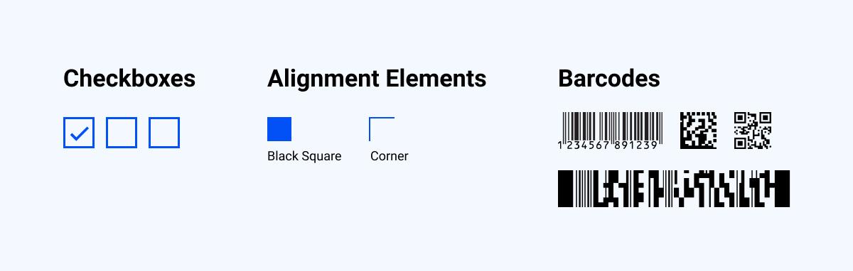 ICR form design